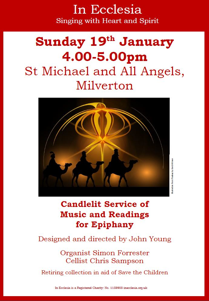 Music & Readings for Epiphany
